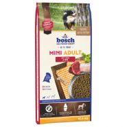 Bosch Mini Adult with Lamb & Rice Полнорационный корм для взрослых собак маленьких пород с ягненком и рисом (15 кг)