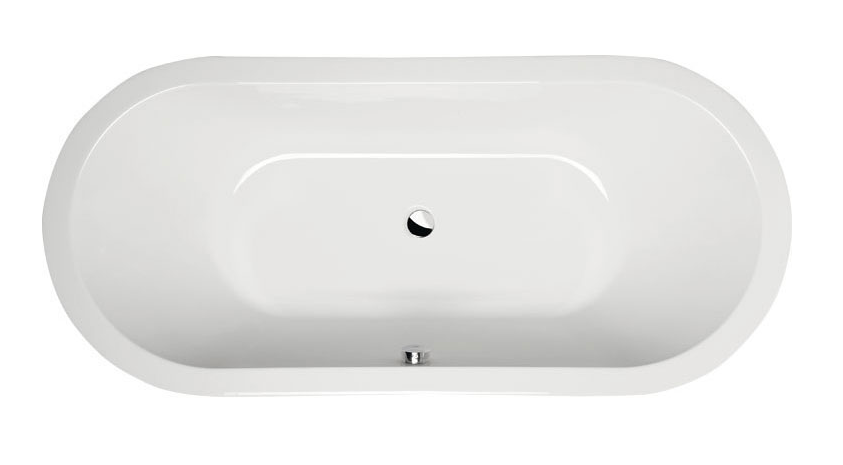 Акриловая ванна Alpen Viva O 185x80 без гидромассажа