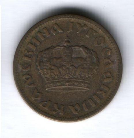 1 динар 1938 г. Югославия