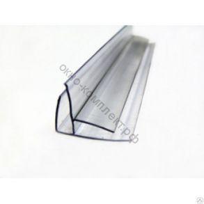 Угловой профиль 8-10мм (6м) прозрачный