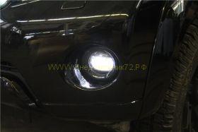 Передние противотуманные фары с ходовыми огнями Диодные для Toyota Land Cruiser Prado