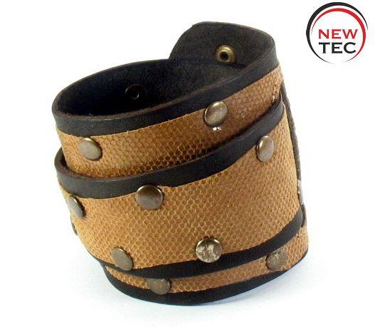 Кожаный браслет NewTec-6
