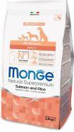 Monge Dog Speciality Line All Breeds Adult Salmone & Rice Корм для собак всех пород с лососем и рисом (2,5 кг)