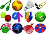 Спортивные товары и игры