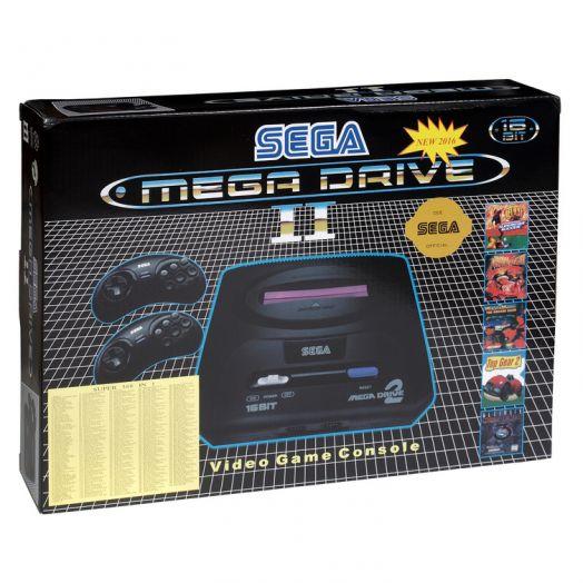 SEGA Mega Drive II (black)