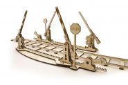 Конструктор 3D-пазл Ugears - Переезд с рельсами