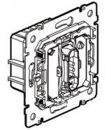 Выключатель 2-х канальный для управления освещением и вентиляцией в санузлах (арт.775750)