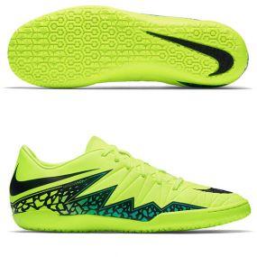 Футзалки Nike Hypervenom Phelon II IC салатовые