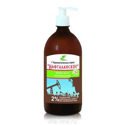 Жидкое мыло для проблемной кожи Нафталанское 2% 500 мл
