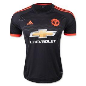 Игровая футболка клуба adidas Manchester United FC Third Jersey чёрная
