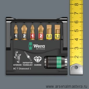 Набор бит WERA Bit-Check 30 Wood 2 WE-057432