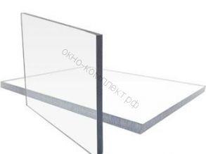 Монолитный поликарбонат 6мм (прозрачный)