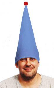 Колпак карнавальный синий