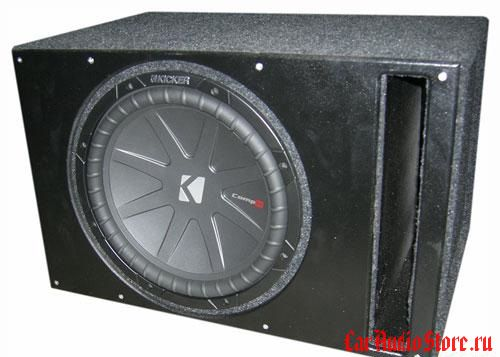 Kicker CWR124 vented box