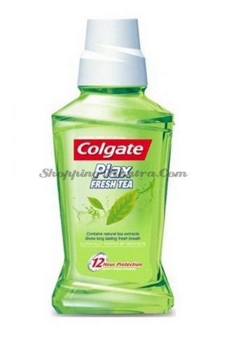 Освежающий ополаскиватель для рта Колгейт   Colgate Plax Fresh Tea Mouthwash