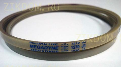 Ремень для стиральной машины Samsung 1270 J3 EL Megadyne