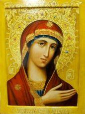 Невская Скоропослушница икона Божией Матери (рукописная)