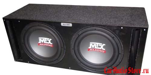 MTX RT10-04x2 vented box