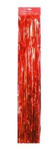 Мишура «Дождь красный», ширина 10 см, длина 90 см