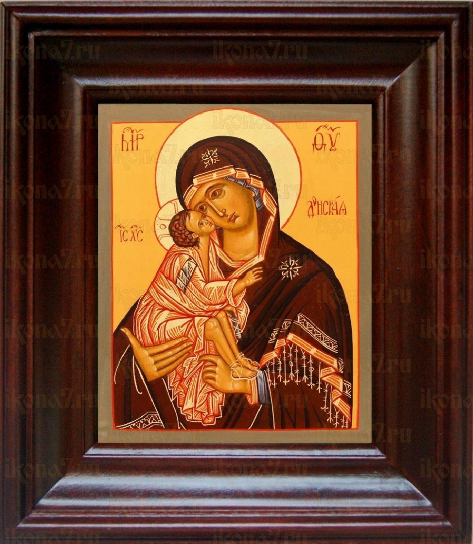 Донская икона БМ (21х24), простой киот