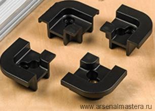 Уголки 4 шт для монтажной шины Veritas Quad T-Slot Track 13k14.13 М00012647