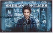 Автограф: Роберт Дауни мл. Шерлок Холмс