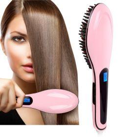Термощетка-выпрямитель для волос 2 в 1
