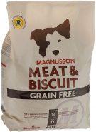 Magnusson Meat&Biscuit Grain Free Беззерновой корм для взрослых собак с нормальным уровнем активности (4,5 кг)
