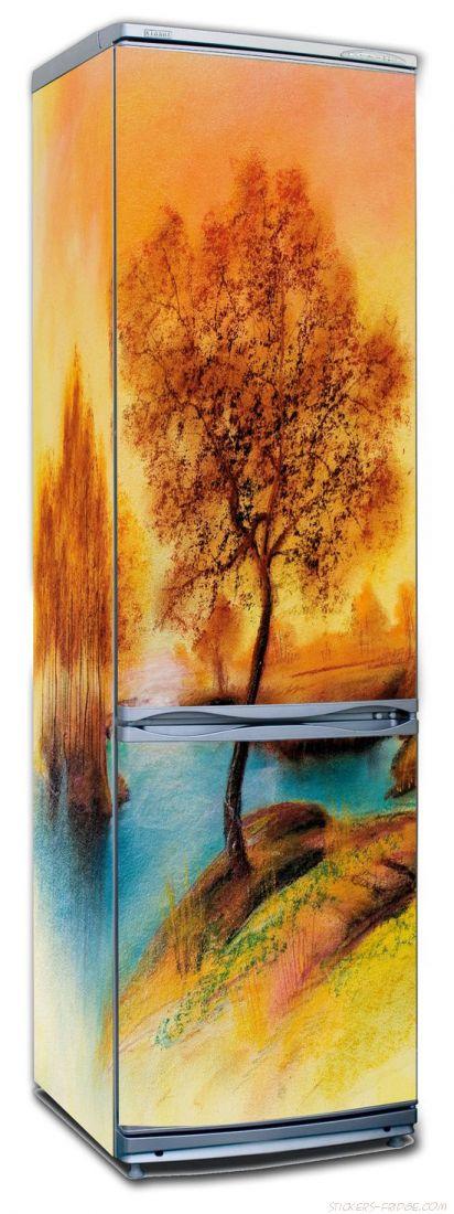 Наклейка на холодильник - Пейзаж 2