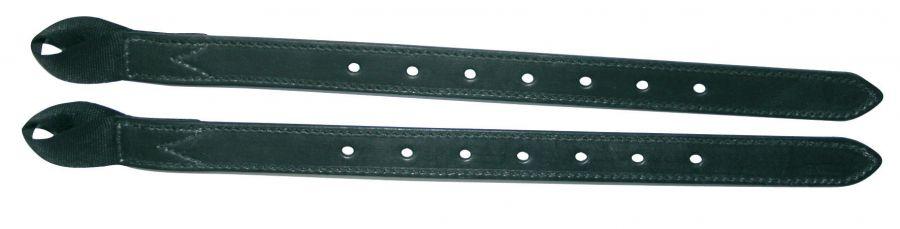 Комплект из 2 кожаных приструг BATES