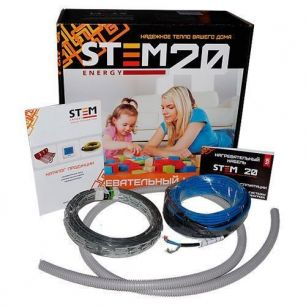 Греющий кабель StemEnergy 1000/20 длина комплекта 50 м.