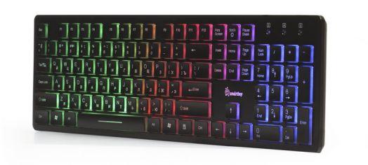Клавиатура проводная с подсветкой Smartbuy ONE 305 USB черная