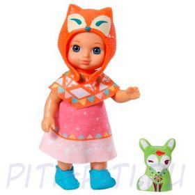 Кукла Zapf Creation Chou Chou 920-299 Шу-Шу Мини-лисичка 12 см в ассортименте (2 волна)