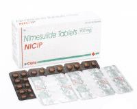 Ницип (нимесулид 100мг) нестероидный противовоспалительный препарат Ципла Фарма / Cipla Nicip Nimesulide 100mg Tablets