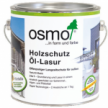 Защитное масло-лазурь для древесины с эффектом серебра Osmo Holzschutz Ol-Lasur Effekt 1143 Оникс серебро 0,75 л