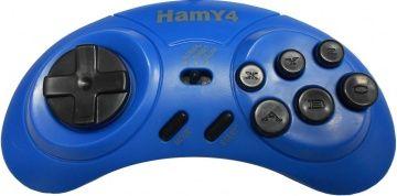 Проводной контроллер Hamy 4 (Blue) Синий (подходит к Сеге)