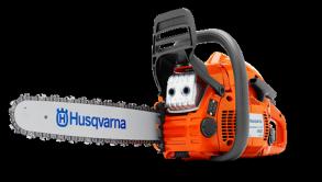 """Бензопила Husqvarna 450e II (2.4кВт/3.2 л.с., X-TORQ, облегченный запуск, 15"""", 0.325"""", X-Cut SP33G, Pixel, 1.3мм, X-Force)"""