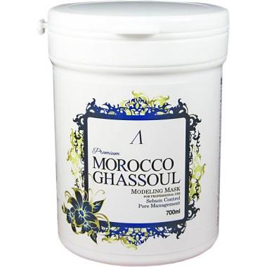 Маска альгинатная от расшир. пор ANSKIN PREMIUM Morocco Ghassoul Modeling Mask