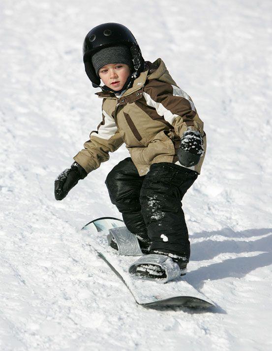 Сноуборд детский с упрощенными креплениями
