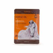 FarmStay Тканевая маска с лошадиным маслом для сухой кожи, 23 мл