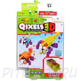 """Qixels  Квикселс Дополнительные наборы для """"3D Принтера"""""""