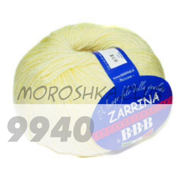 Светло-жёлтый Zarrina BBB (цвет 9940)