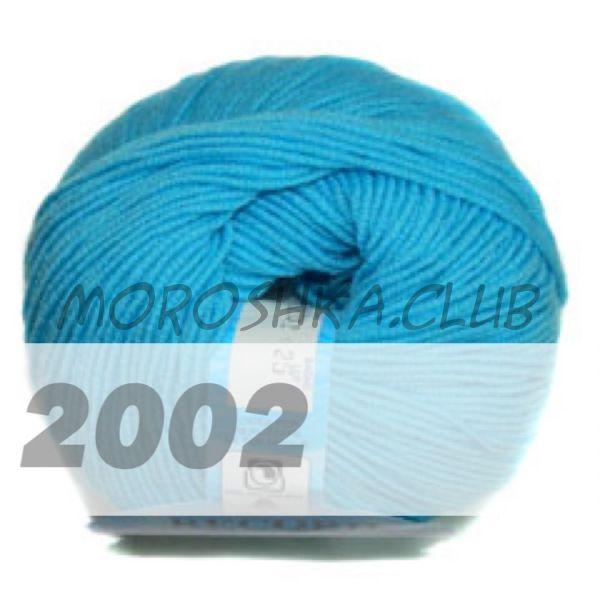 Ярко-голубой Record BBB (цвет 2002), упаковка 10 мотков