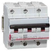 Автоматические выключатели Legrand MCBs DX-h 25kA-12,5kA