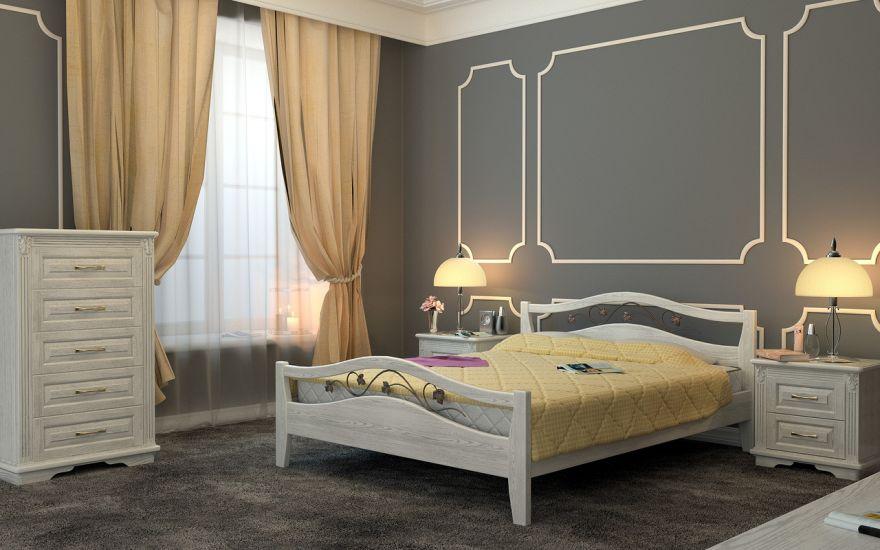 Кровать Верона (массив бука) | DreamLine
