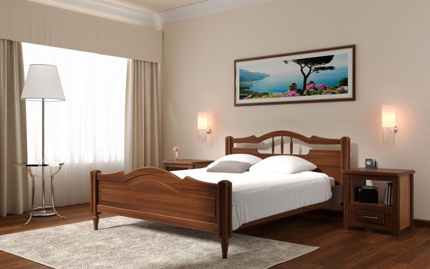 Кровать Луиза (массив бука) | DreamLine