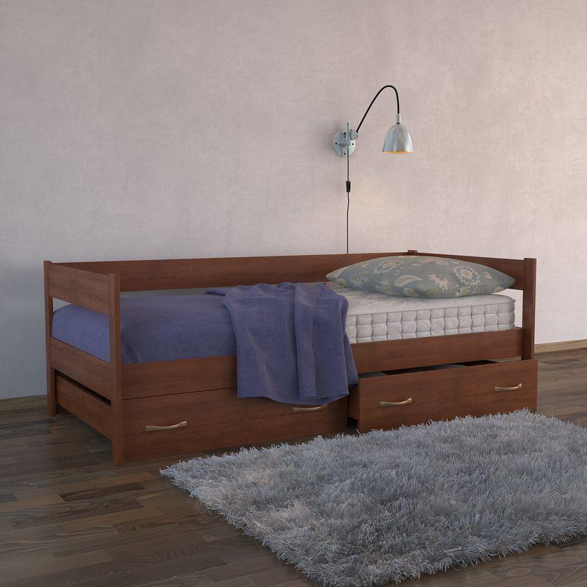 Кровать-тахта с ящиками (массив бука) | DreamLine
