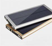 Ультратонкий внешний аккумулятор с солнечной батареей PowerBank 12000 mAh
