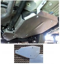 Защита бака и дифференциала, ТСС, алюминий 4мм