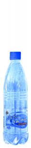 Доставка воды Аква чистая 0,6л. (12шт.) газированная